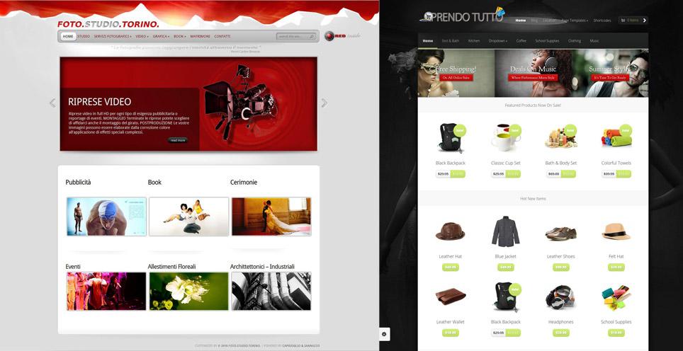 Siti Web piattaforma wordpress